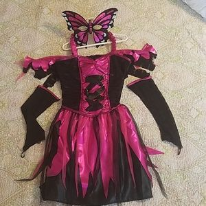 Other - Butterfly fairy,  mask and gloves costume sz 12-14